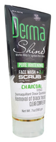 Derma Shine Charcoal Face Wash + Scrub 200g buy online in pakistan