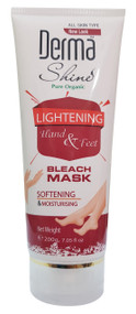 Derma Shine Hand & Foot Lightening Bleach Mask 200g
