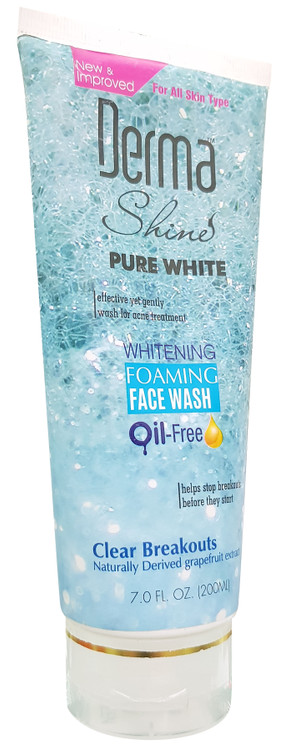 Derma Shine Whitening Foaming Face Wash 200g buy online in pakistan