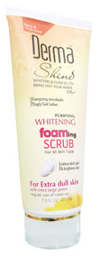 Derma Shine Whitening Foaming Scrub 200g buy online in pakistan