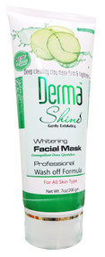 Derma Shine Whitening Facial Mask 200g Cucumber buy online in pakistan
