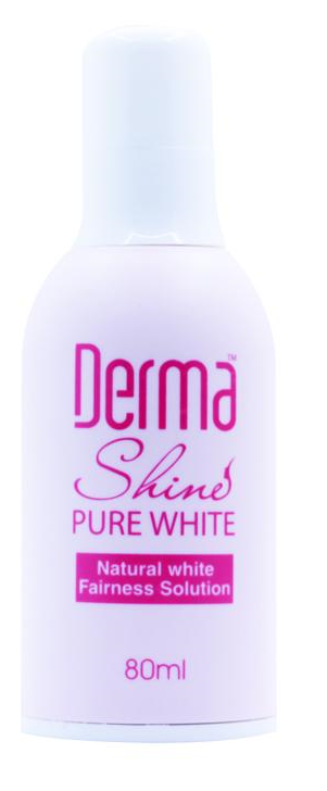 Derma Shine Pure Whitening Lotion 80ml