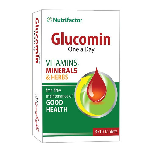 Nutrifactor Glucomin 30 Tablets lowest price on saloni.pk