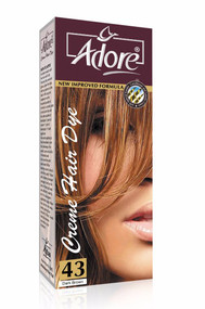 Adore Hair Dye Dark Brown 43