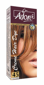 Adore Cream Hair Dye 45 Natural Black