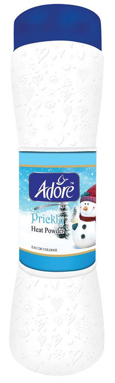 Adore Prickly Heat Talcum Powder Large 250 Gram lowest price in pakistan on saloni.pk