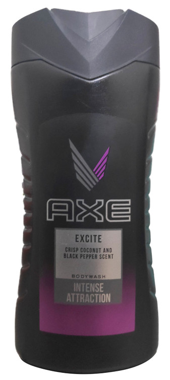 Buy Body Wash, Excite, Crisp Coconut & Black Pepper Scent 250 ml lowest price in pakistan on saloni.pk