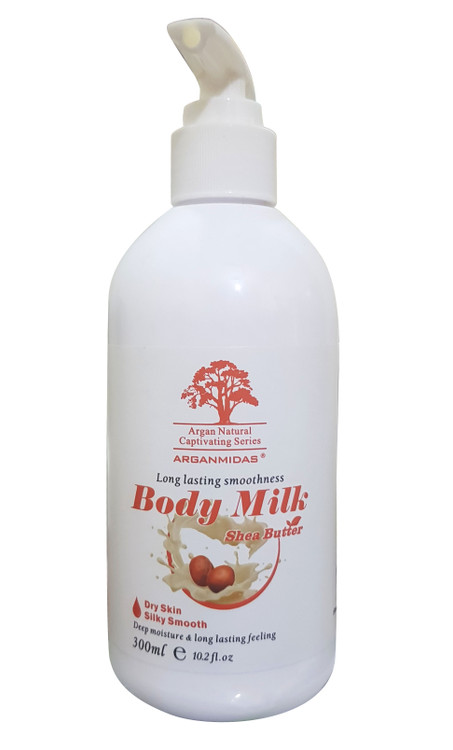 Arganmidas Body Milk High Quality Moisturizer Shea Butter Cream Body Lotion lowest price in pakistan on saloni.pk