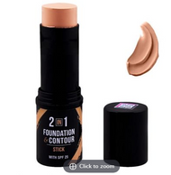 DMGM 2-In-1 Foundation & Contour Stick 454 Moon Kiss SPF 25 lowest price in pakistan on saloni.pk
