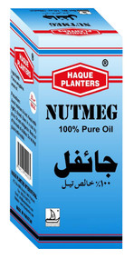 Haque Planters Nutmeg Pure Oil  10 ml lowest price in pakistan on saloni.pk