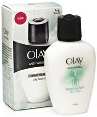 Olay Anti-Wrinkle Sensitive Skin Day Lotion
