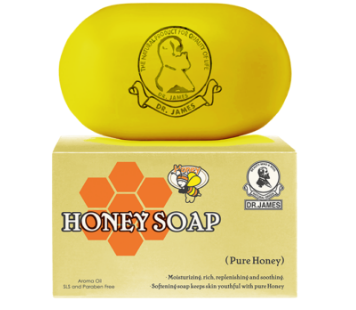 Dr. James Honey Soap 80 gm lowest price in pakistan on saloni.pk