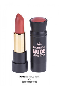 Gabrini Matte Nude Lipstick 03 lowest price in pakistan on saloni.pk