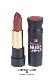 Gabrini Matte Nude Lipstick 06 lowest price in pakistan on saloni.pk