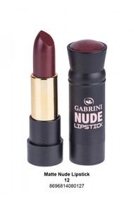 Gabrini Matte Nude Lipstick 12 lowest price in pakistan on saloni.pk