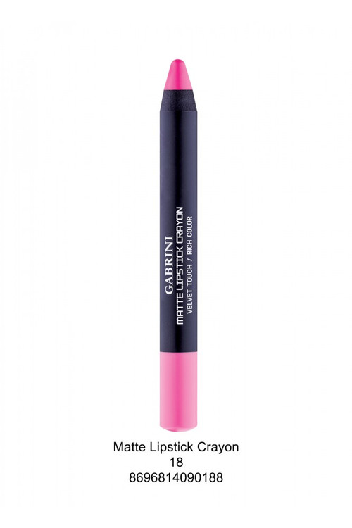 Gabrini Matte Lipstick Crayon Pencil 18 lowest price in pakistan on saloni.pk