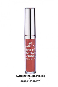 Gabrini Matte Metallic Lipgloss 02 lowest price in pakistan on saloni.pk
