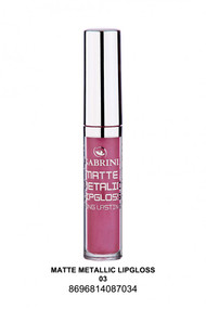 Gabrini Matte Metallic Lipgloss 03 lowest price in pakistan on saloni.pk