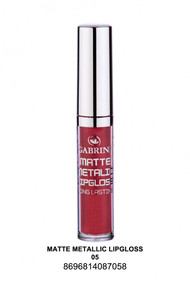 Gabrini Matte Metallic Lipgloss 05 lowest price in pakistan on saloni.pk