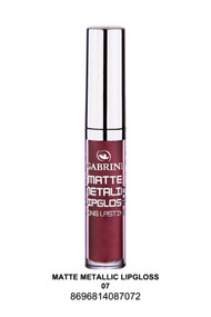 Gabrini Matte Metallic Lipgloss 07 lowest price in pakistan on saloni.pk