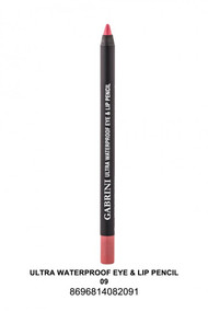 Gabrini Ultra Waterproof lip & Eye Pencil 09 lowest price in pakistan on saloni.pk