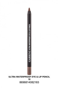 Gabrini Ultra Waterproof lip & Eye Pencil 18 lowest price in pakistan on saloni.pk