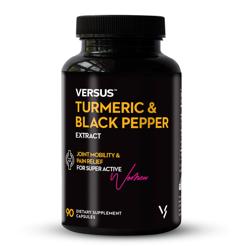Versus Turmeric and Black Pepper Extract 90 Capsules lowest price in Pakistan