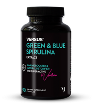 Versus Green & Blue Spirulina Extract 90 Caps lowest price in Pakistan on saloni.pk