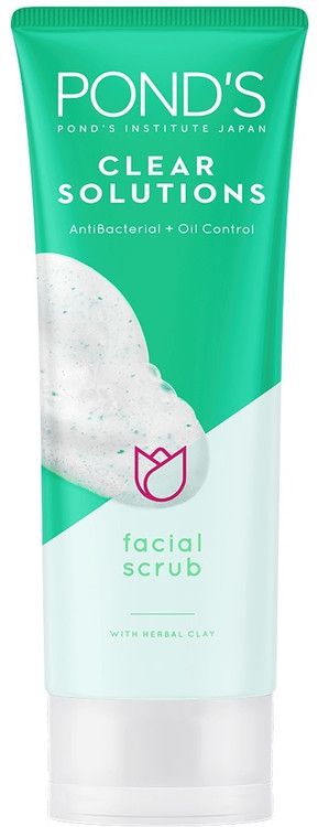 Pond's Clear Solutions Facial Scrub 100g buy online in pakistan