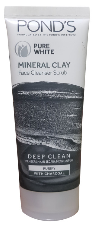 Pure White Mineral Clay Cleansing Scrub 90 g Buy online in Pakistan on Saloni.pk