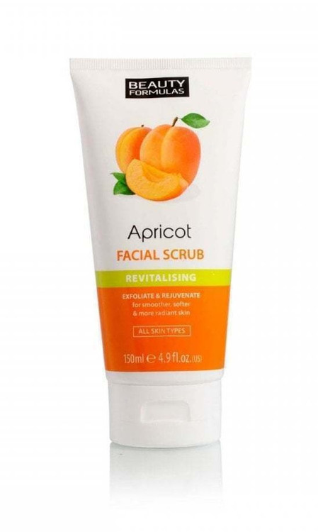 Beauty Formulas Apricot Facial Scrub 150 ml Buy online in Pakistan on Saloni.pk