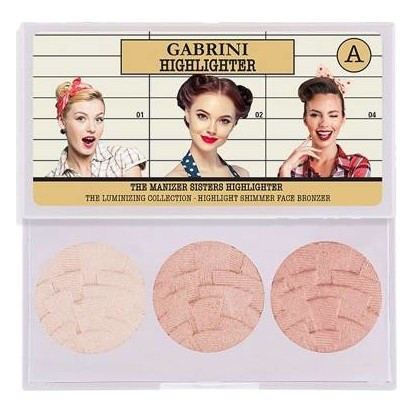 Gabrini Highlighter 3 in 1 (Palette) A lowest price in pakistan on saloni.pk