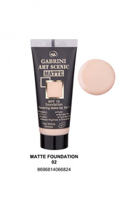 Gabrini Matte Foundation 2 lowest price in pakistan on saloni.pk