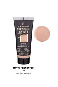 Gabrini Matte Foundation 3 lowest price in pakistan on saloni.pk