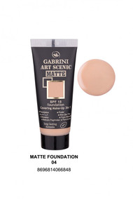 Gabrini Matte Foundation 4 lowest price in pakistan on saloni.pk
