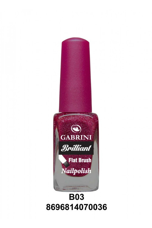 Gabrini Brilliant Nail Polish 3 lowest price in pakistan on saloni.pk