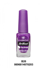 Gabrini Brilliant Nail Polish 20 lowest price in pakistan on saloni.pk