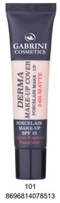 Gabrini Derma Makeup Cover Foundation 01 buy online in pakistan