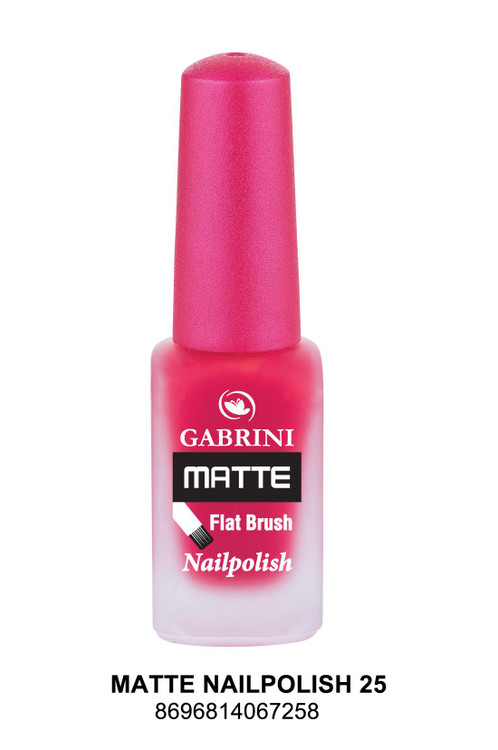 Gabrini Matte Nail Polish lowest price in pakistan on saloni.pk