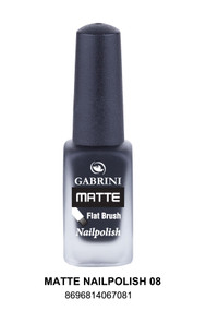 Gabrini Matte Nail Polish 8  lowest price in pakistan on saloni.pk
