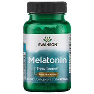 Swanson Melatonin 3mg (120 Tablets)