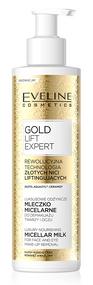 Eveline Gold Lift Micellar Milk 200 ML. Lowest price on Saloni.pk