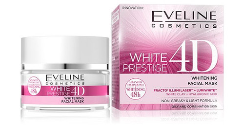 Eveline White Prestige 4D Facial Mask 50 ml. Lowest price on Saloni.pk