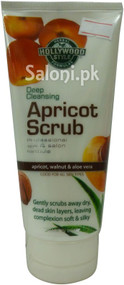 Hollywood Style Deep Cleansing Apricot Scrub (Front)