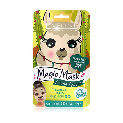 Eveline Magic Face Queen Mattifying Sheet Mask. Lowest price on Saloni.pk.