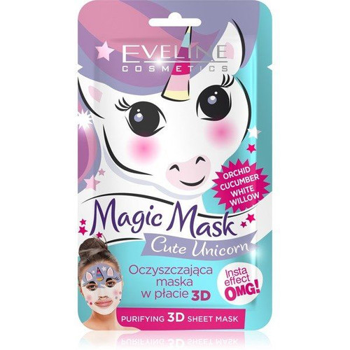 Eveline Magic Face Unicorn Purifying Sheet Mask. Lowest price on Saloni.pk.