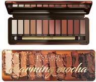 Eveline Charming Mocha Eye Shadow Palette. Lowest price on Saloni.pk.