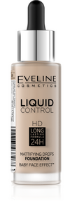 Eveline Liquid Control HD Foundation. Lowest price on Saloni.pk.