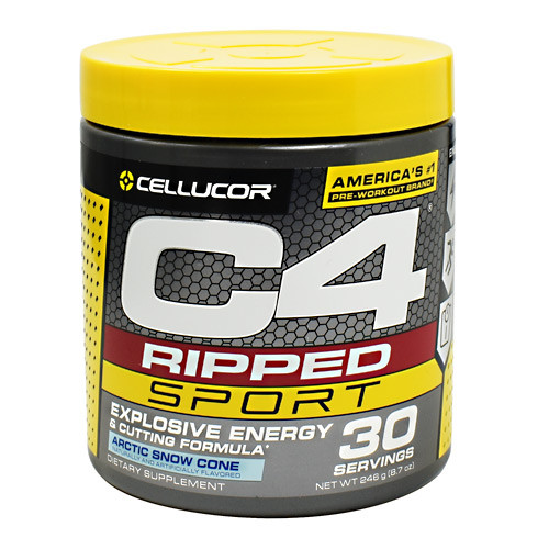 Cellucor C4 Ripped Sport Explosive Energy Arctic Snow Cone 30 Servings.  Lowest price on Saloni.pk