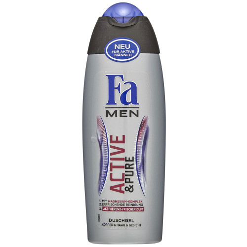 Fa Men Active & Pure Shower Gel 250 ML. Lowest price on Saloni.pk